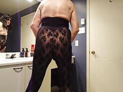 Gay bathroom, Stocking cum, Amateur stockings, Solo stockings, Stockings solo, Stockings amateur