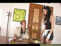 Maid, From behind, From behinde, T fuck behind, Maid hot, Maid fucked