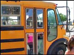 Bus, Schoolgirl bus, Dri, Schoolgirl fuck, Naughty a, Naughty -law