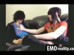 Emo, Teen, Kissing, Shy, Kiss, Shy teen