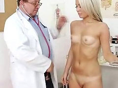 Doctor, Old young, Young girl, Girls blondes, Young girl pussy, Venus