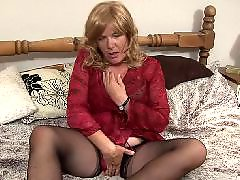 Play,on, Mature bed, On play, Housewifes amateur, Housewife mature, Granny playing