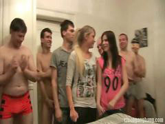 Czech, Gang bang, Sister, Gang, 2 czech, Girlfriend