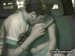 Latin, Backseat, Blowjob amateur, Latin blowjob, Car blowjob, Latinas amateur