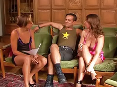 Asian threesomes, German sex sex, Stocking cum, Glasses masturbating, Asian threesome, Asian stockings