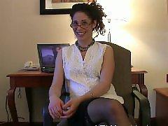 Milf gives, Interviewed, Hairy, milf, Hairy milfs, Hairy anál, Milf interview