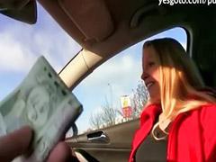 Uang, duit, Uang duit, uang, Payudara besar,public, Pon uang, Sexs publik, Oral publik