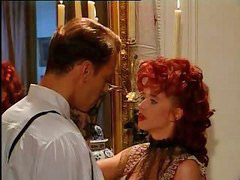 Redhead blow, Blow in, Babe blow, Corsetting, Corsets, Fucking in a corset