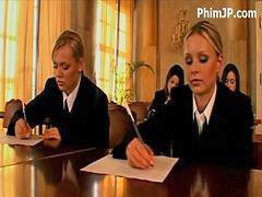 في المدرسه, بنات المدرسة, بنات مدارس, مدارس, فتيات روسيات, مدرسة بنات