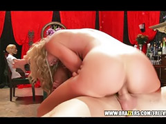 Blond milf, Toy sex, Blowjob&fucking, Rough blowjob, Sex toy, Asian toys