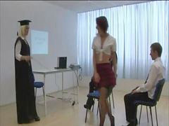Student, Lesson, Taught, Milie, Humiliate, Student,