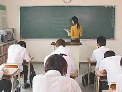 في المدرسه, في كل, مدارس, معلم, ممارسه الجنس, مدرسه في المدرسه