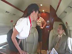 Fucks two, Beauty, Men men, Stewardess, X is, Two with