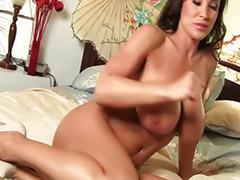 Lisa ann, Big tits solo, Big tits brunettes, Toy solo, Shaved solo, Big tit milf