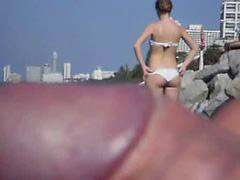 Public, Flashing, Flash, Flashes, Beach public, Girls flashing