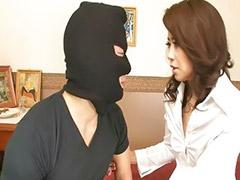 Japanese, Hairy brunette, Hairy vagina, Japanese wife , Hairy japanese, Robber