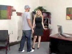 Office blonde, Office beauty, In office, In offic, Blonde beauty, Blond office