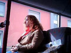 قروب في العلن,, قروب في العلن, في علن, فى لحافلة, فى الباص اميركى, فى الاتوبيسات العامة