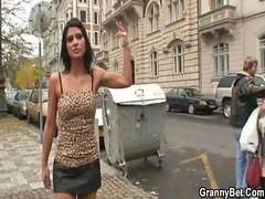 `prostitutas, Con tachas, Prostituta, Prostitutas, Abuelita