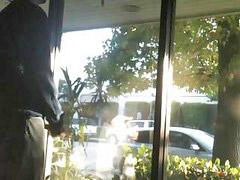 Store, Public jerking, Jerk off, Seen jerking, Public jerk, Windowe