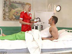Paciente enfermera, Paciente, Enfermera