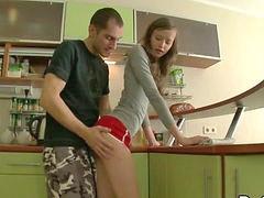 Hاشپزخانه, مراه, آشپزخانه, نوجوان, مقعد