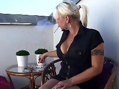 Smoking milf, Smoking blondes, Smoking boobs, Smoke milf, Smoke blonde, Milf smoking