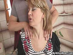 Mom, Mom banging, Mom bang, Wifes mom, Wife mom, Wife banged