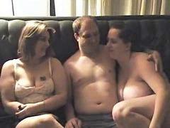 بعص, ذbbw, هواة, الهاوي, مجموعة من ثلاثة أشخاص