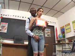 Interracial, Lesson, Amber, Amber rayne, Rayne, Lesson a
