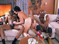 Interracial anal, Double anal, Big anal threesome, Threesome anal, Big ass anal, Anal milf