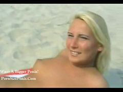 Pee, Peeing, Nude beaches, Beach nude, The blonde, Peeing on