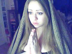 ءىءء, مسيحية, مسيحيات, عيون زرقاء, عيون, فتيات روسيات