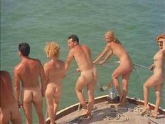 Nudist, Camping, Nudisták, Nudist camp, Classic scenes, Camp