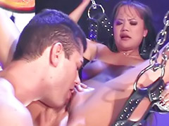Boots, Boots licking, Asian cum swallowing, Asian swallowing, Miles, Twist