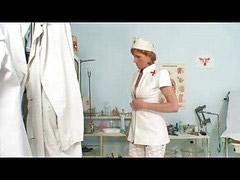 Inspecciones, Enfermeras maduras, Cierra, Mamando, Enfermeras, Lactando