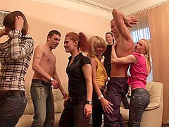 Party, Group, Game, Inside, Laid, Sex party