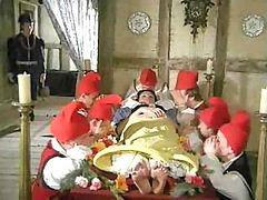 Snow white and 7 dwarfs, White cock, While watching, Princes, While watches, Watching cock