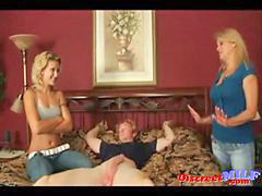 Mother daughter, Young handjob, Young guy, Mother&daughter, Mother handjob, Young handjobs