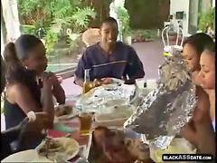 Aile,, Siyah, Siyah, Familya, Zenci, Aile