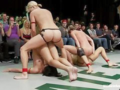 Wrestling, Nude, Sexy, Strap on, Strap, Strap-on