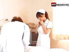 Paciente enfermera, Enfermera japonesa lactando, Paciente, Japonesas enculadas