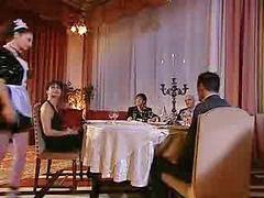 Mucama}, {mucama, Usando, Italian por, Cena, Sirvienta