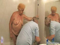 Yaşlı kadın lar, Yaşlı ihtiyar kadın, Alman yaşlı