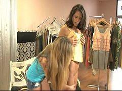 محل ملابس, تسوق, ملابس, ى المحال, ملابس ورديه, ملابس،