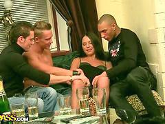 Drunk gangbang, By men, Gangbang drunk, Drunk men, Gangbang three, Gangbang