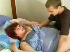 Mom and son, Bbw, Russian, Mom, Mom son