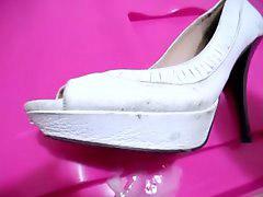 Zapatos blancos, Zapatos, Tacones, Zapato, Talones
