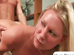 Britney s, Devon lee, Devon, Milf and young, Threesome young, Teens share cock