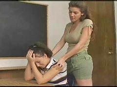 مبيت الطلاب, مدرسات روسيات, معلم, شير, معلمة لطالبات, معاقبه الطالبات